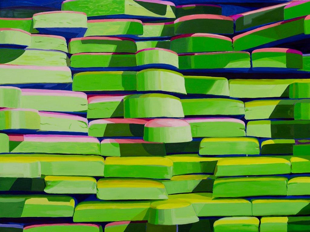 Green Wall, 2019